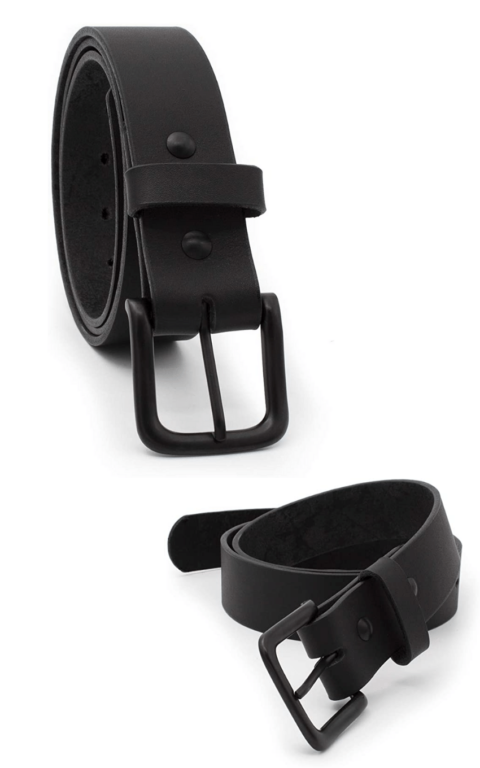 Made in USA man's belt