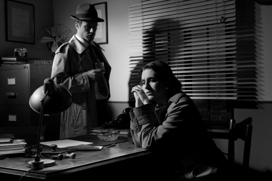 Film noire detective